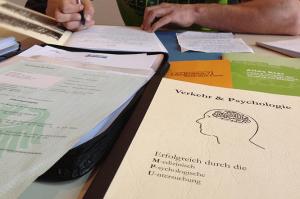 MPU Vorbereitung Unterlagen